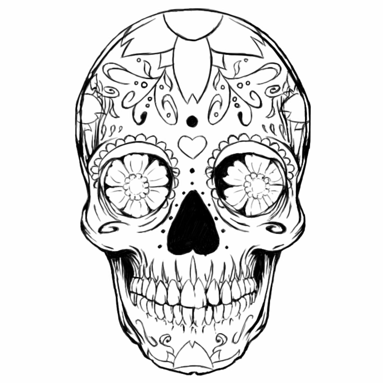 Caveira Mexicana Desenho Para Colorir Pesquisa Google Caveira