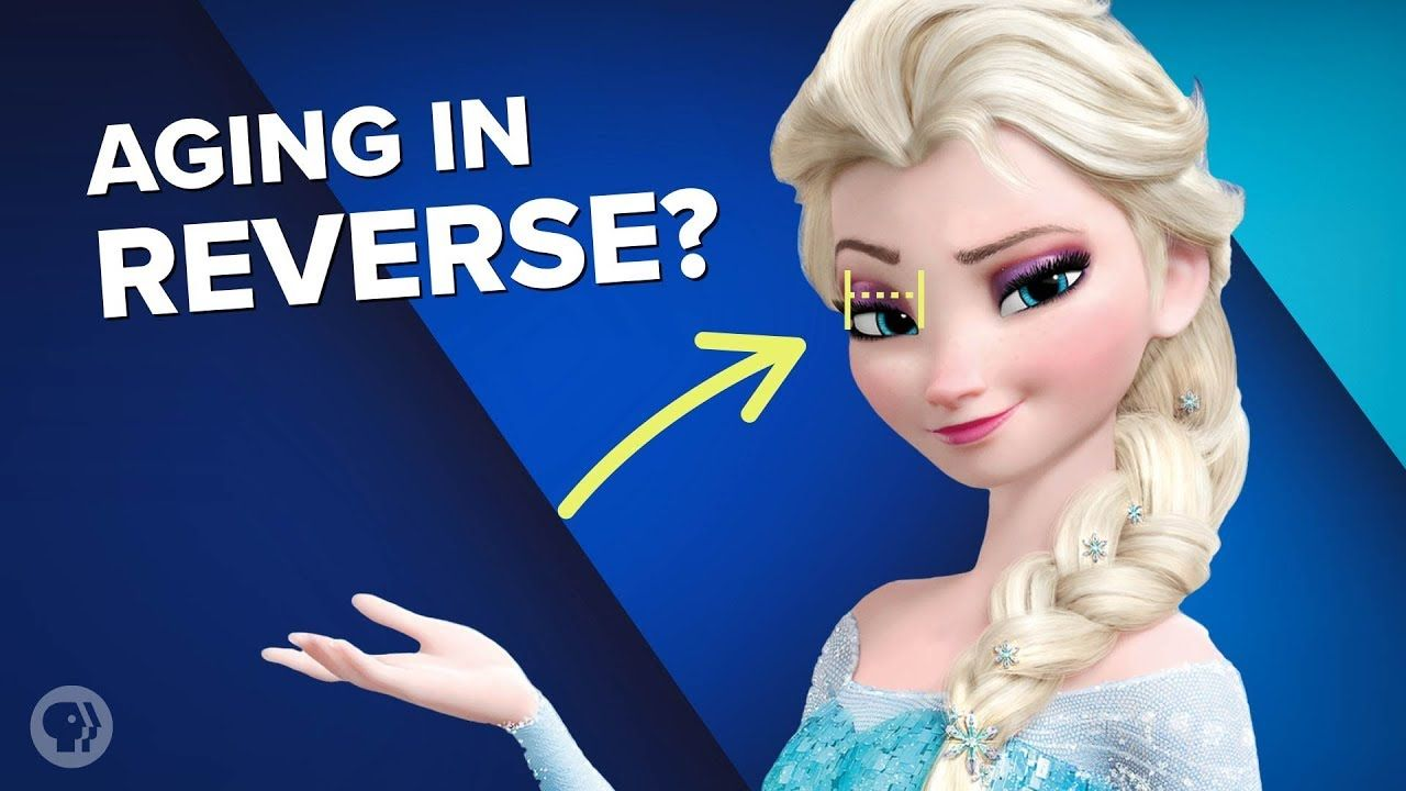 Why Are Disney Princesses Aging in Reverse? - YouTube ...