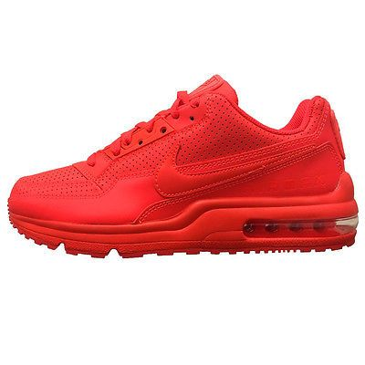 Nike Air Max Ltd 3 Mens 687977 666 Bright Crimson Red
