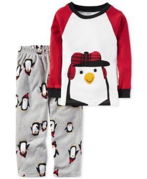 Carter S 2 Pc Penguin Pajama Set Little Boys 2 7 Big Boys 8