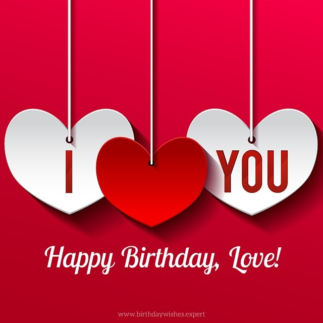 Birthday Love From: Cute Birthday Images For Your Lover!