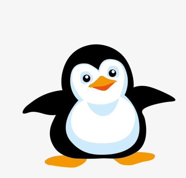 Cartoon Hand Painted Cute Penguin Png Cartoon Clip Art Cute Penguins Cute Clipart