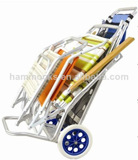 Aluminio carrito de playa la celebraci n de playa for Carros para transportar