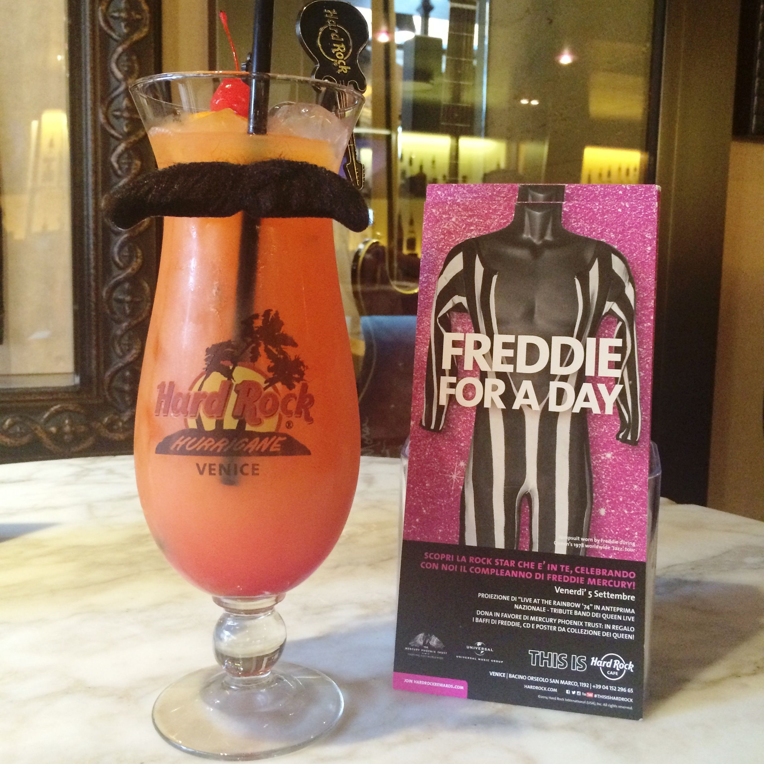 Pin On Freddie For A Day Hard Rock Cafe Venice