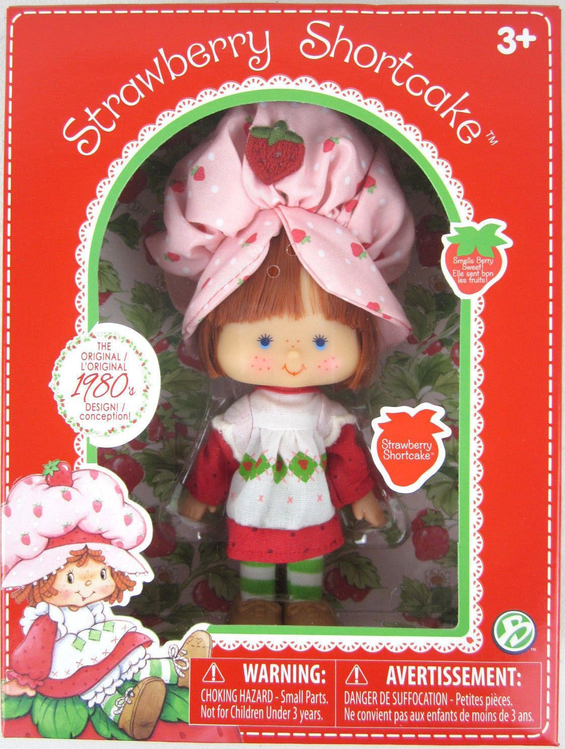 Scented Strawberry Shortcake Classic Doll 1980s Design