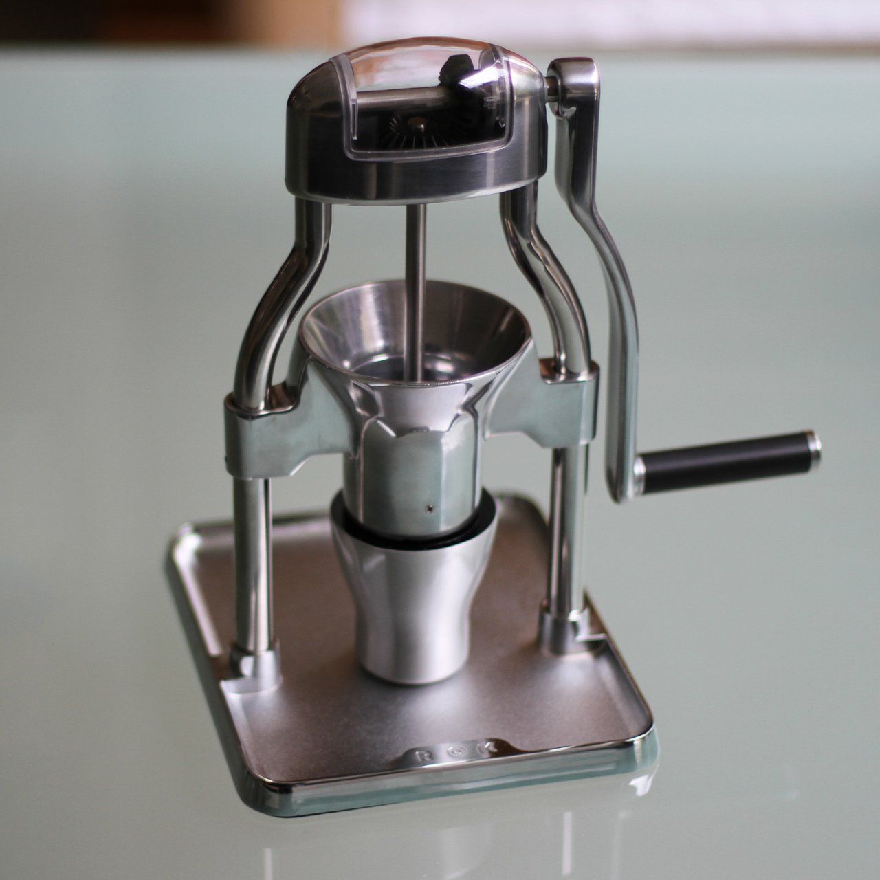 Rok Manual Coffee Grinder (With images) Espresso grinder