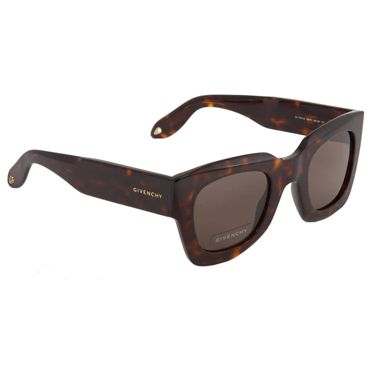 Givenchy Brown Square Mens Sunglasses GV7061s-8670-48