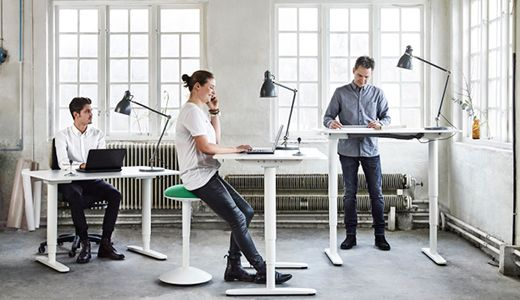 Schreibtische & computertische wie z.b. bekant schreibtisch weiß