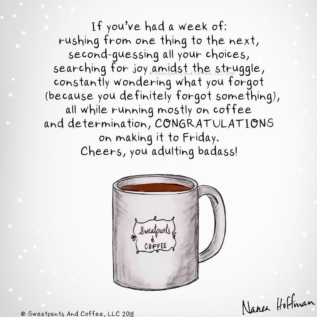 "Sweatpants & Coffee on Instagram ""Anyone else? Or just me"