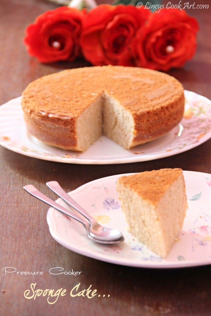 Pressure Cooker Sponge Cake Cakes Without Oven Food In 2018