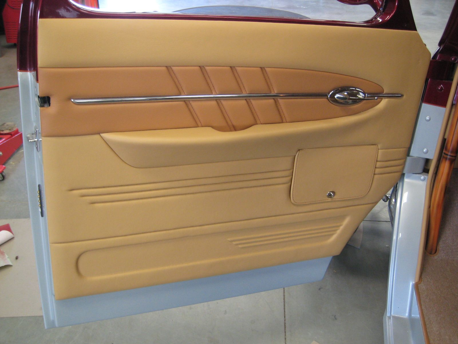 street rod door panel - sexiness | greasemonkey ...