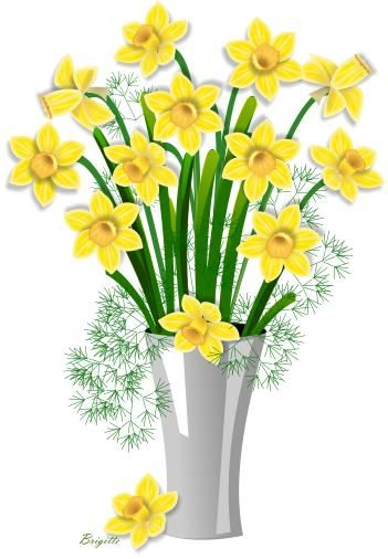 clipart daffodil by brigitte clipart pinterest daffodils rh pinterest co uk daffodil clipart border daffodil flower clipart