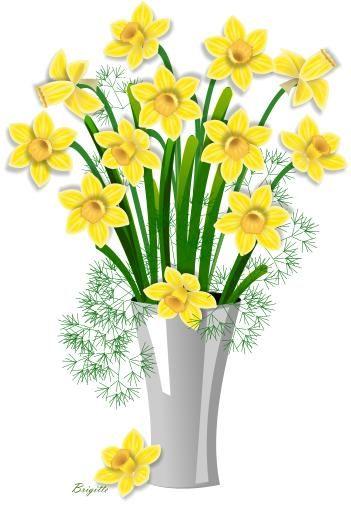 clipart daffodil by brigitte clipart pinterest daffodils rh pinterest co uk daffodil flower clipart daffodil clip art images