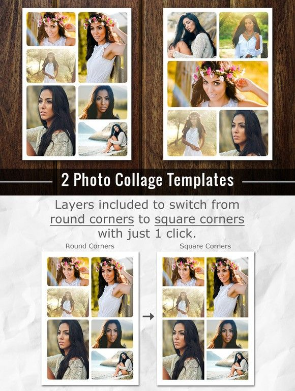Photo Collage Template Photoshop Psd Photo Collage Template Collage Template Photo Collage