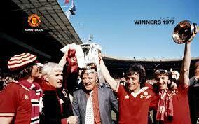 1977 FA Cup winners - Man Utd.