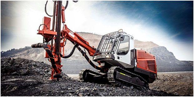 Sandvik Tiger Dg Surface Top Hammer Drills Provide A Leap
