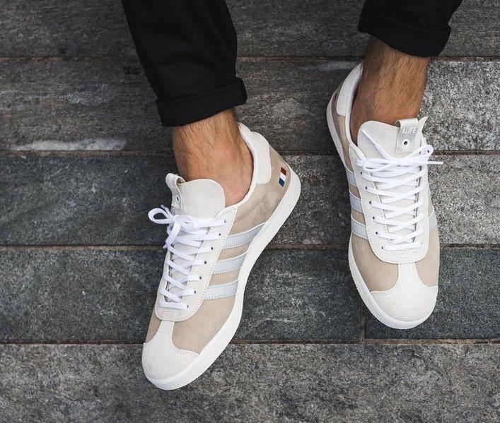 Noroeste Del Norte Subordinar  Adidas Gazelle Alife x Starcow x White Grey Blue Mens Trainers | Zapatos,  Zapatillas, Estilo