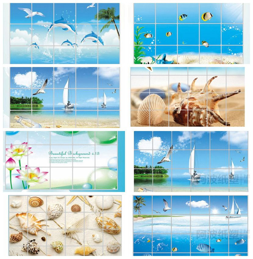 Cheap Wall Sticker, Buy Quality Decorative Wall Stickers Directly From  China Home Decor Wall Sticker Suppliers: Waterproof Bathroom Tile Aluminum  Foil Wall ...