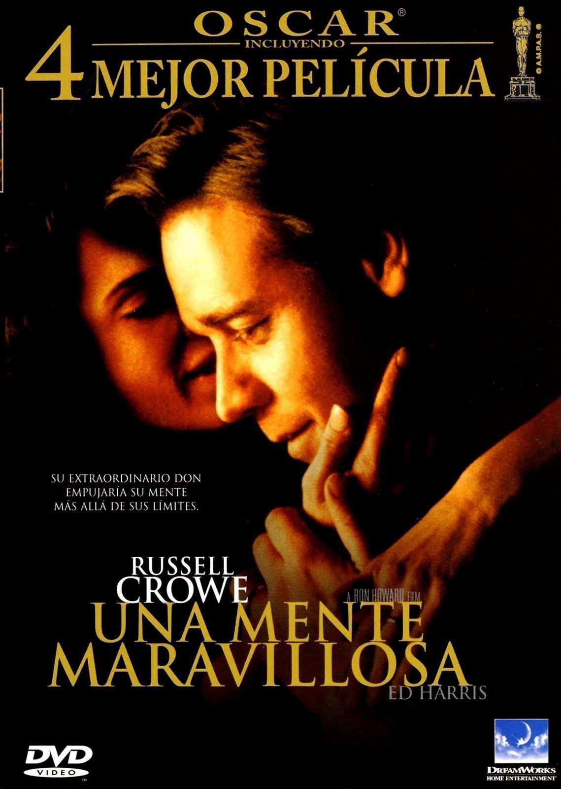 Una mente maravillosa. Una de las mejores películas que he visto.