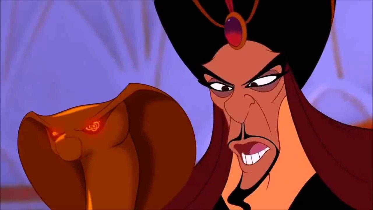 Aladdin Jafar Hypnotizes Sulta Aladdin Disney Characters Jafar