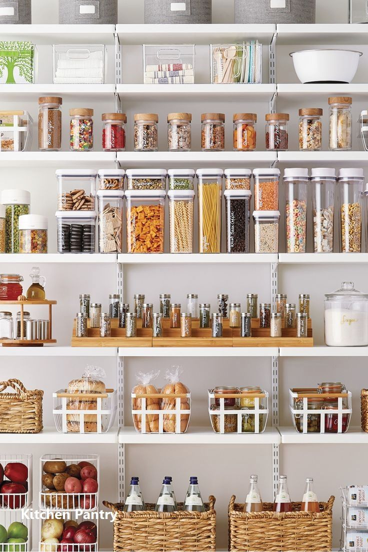 15 Formidably Functional DIY Tips For Your Kitchen\'s Pantry 1 ...