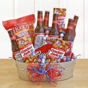 Bucket O' Bud Gift Basket - SEND Liquor | craft ideas | Pinterest ...
