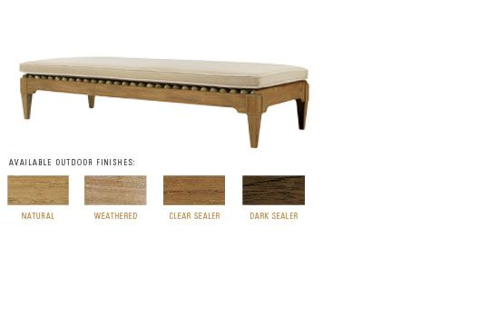 Sutherland Furniture Conservatory Bench John Hutton Design Outdoor Living Pinterest