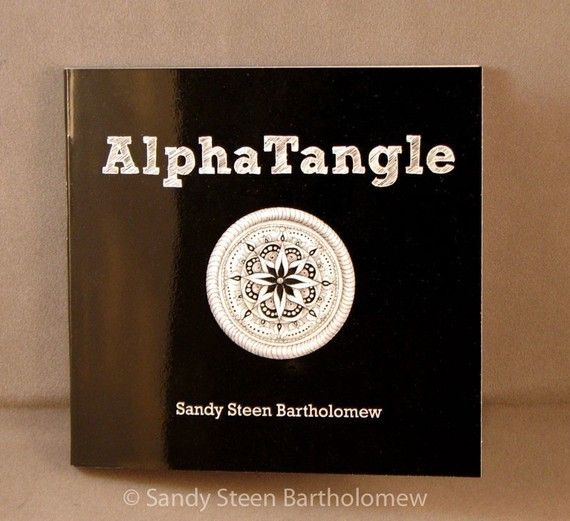AlphaTangle  A Zentangle Alphabet Book by bumblebat on Etsy, 9.99