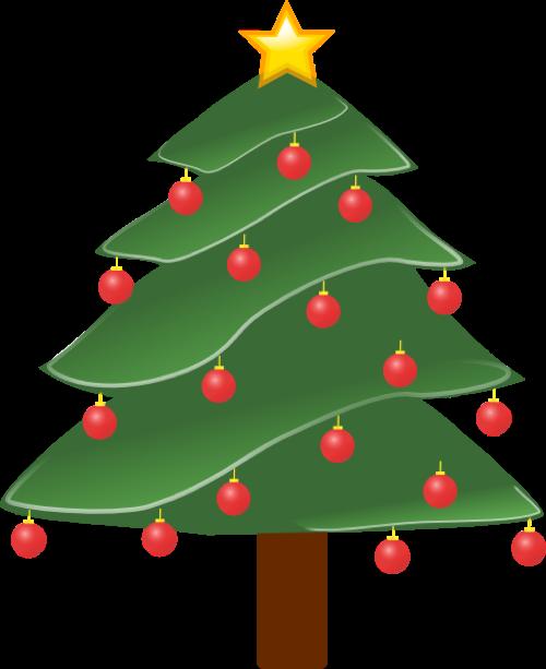Lightlydecoratedchristmastreeclipart Christmas Clipart Free Christmas Calendar Christmas Coasters