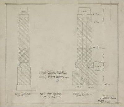 Empire state building plan tara printables pinterest empire featured for sale are original floor plan isometric and elevation drawings of the empire state building dating from 1929 and they document the evolution malvernweather Images