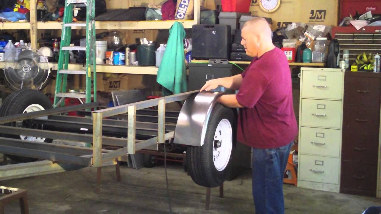How to Build a Utility Trailer Full Video Parts 1-9 HD