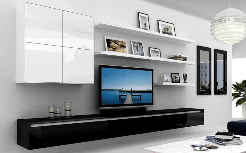 Furniture great tv shelves design choosing the best tv shelves for decorating your living room - Tv shelf design ...