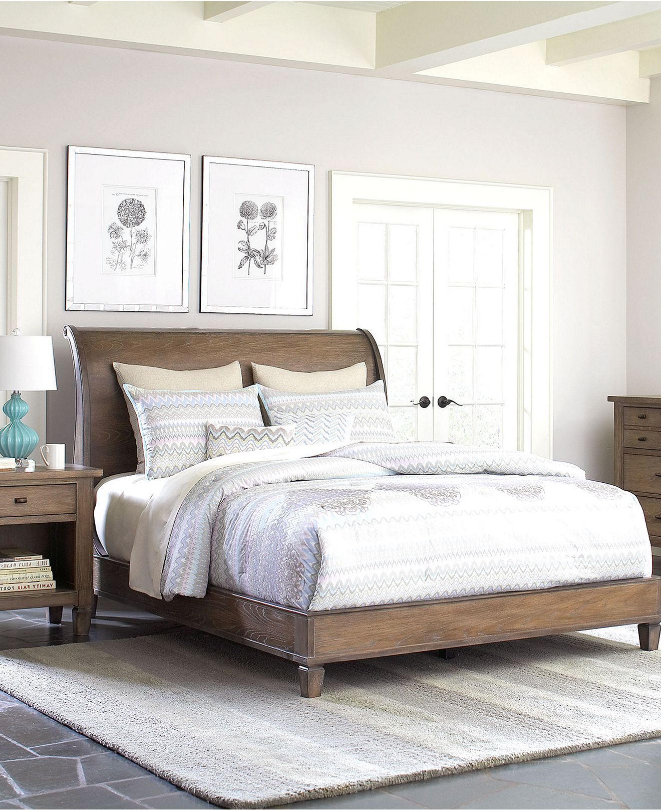 Super pretty room .Scottsdale Bedroom Furniture Collection - furniture - Macys #macysdreamfund