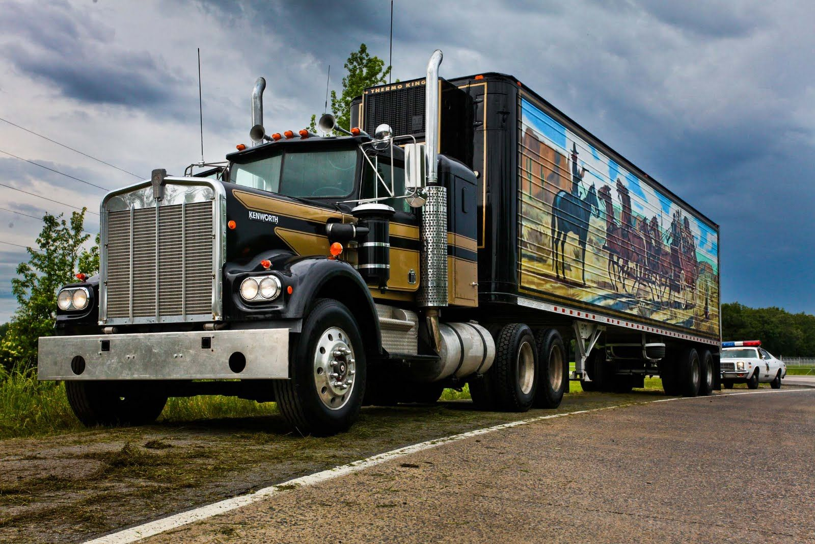 Trucks, Peterbilt And Truck Drivers