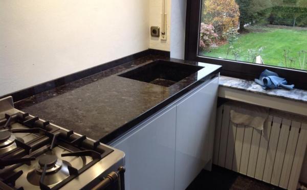 Aufmaß, Lieferung und Montage von der Granit Küchenarbeitsplatte - küchenarbeitsplatte aus granit