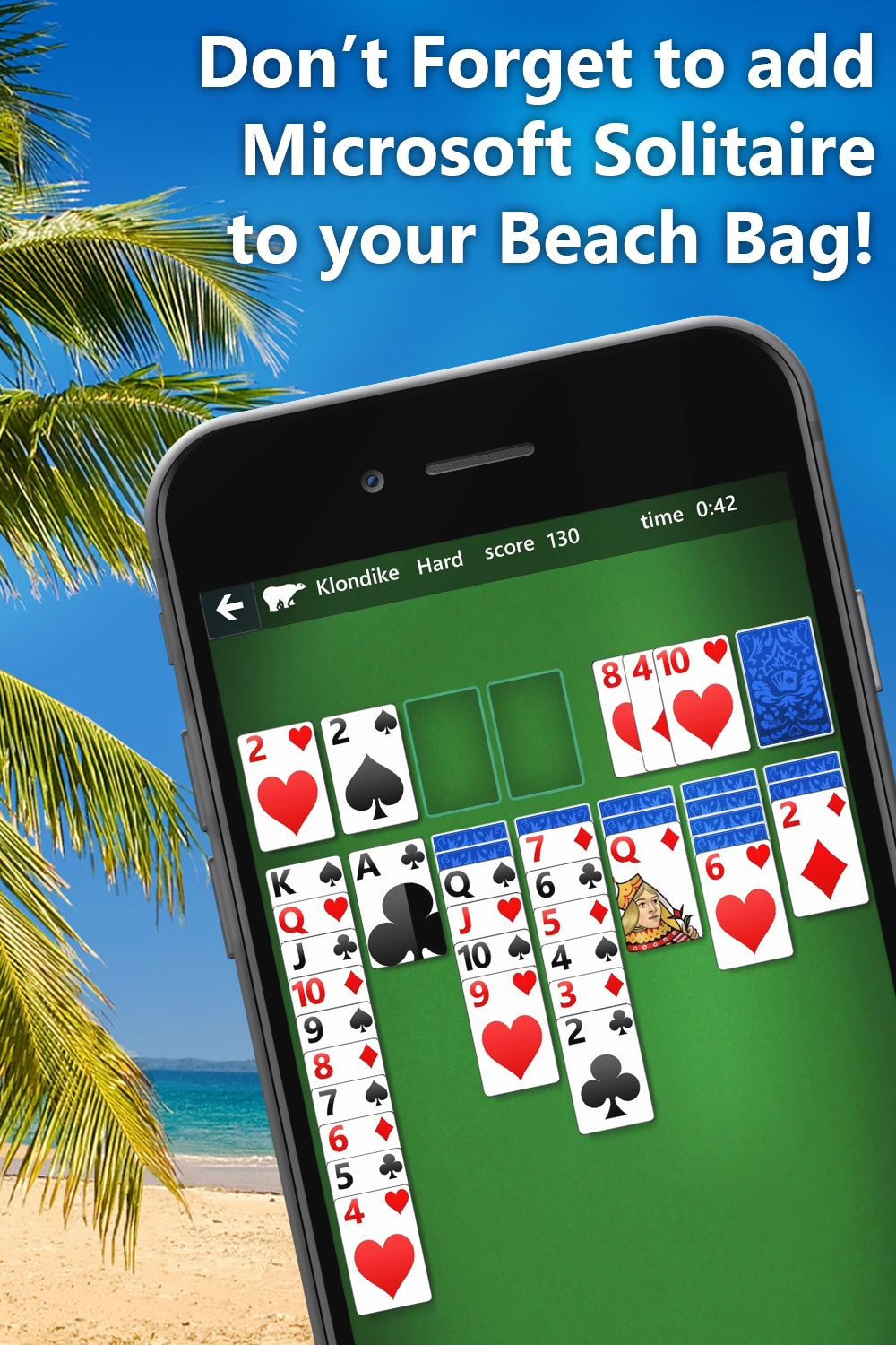 Enjoy 5 of the classic solitaire games and play solvable