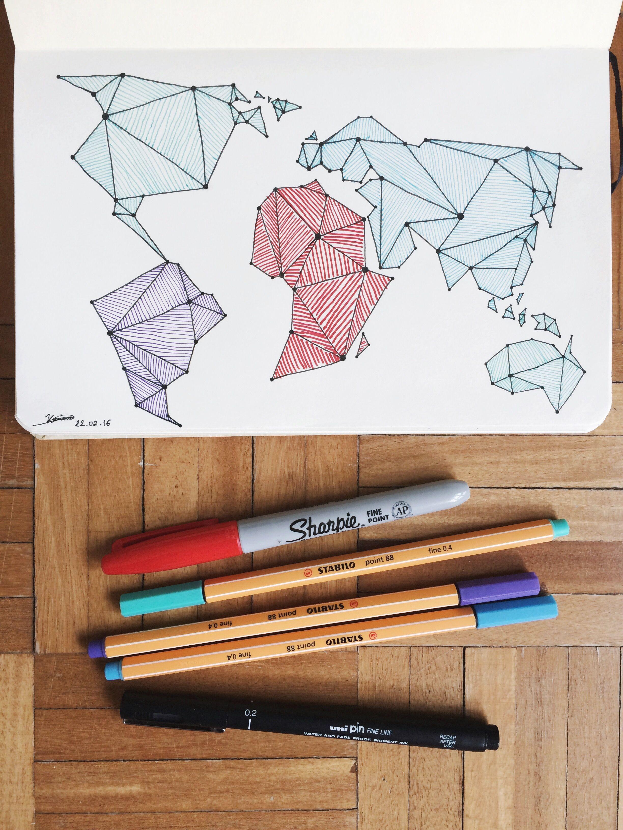 Pin by kristen mitchell on art major pinterest worldmap ink karikakaugotta go explore gumiabroncs Images