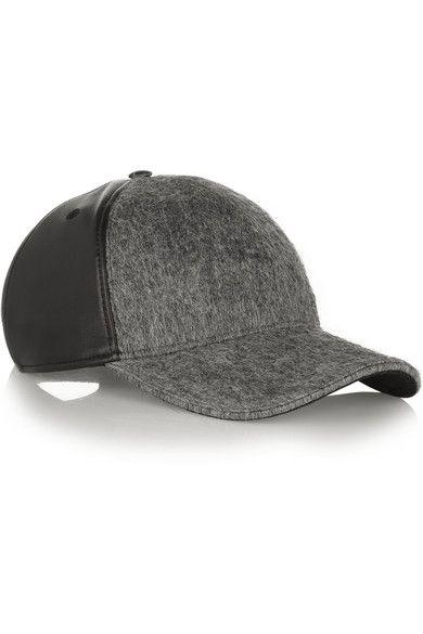 b0c83bf5db4 wool   leather cap