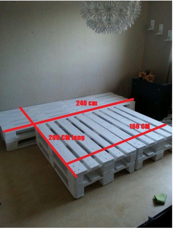 Want to buy a pallet bed 160 x 200? - Order cheap online PalletDiscounter#bed #buy #cheap #online #order #pallet #palletdiscounter