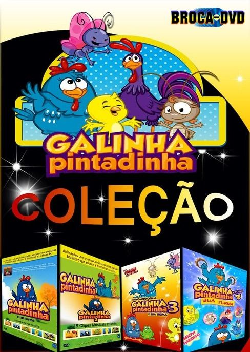 Galinhapintadinha4x1 Com Imagens Dvd Video Galinha Pintadinha
