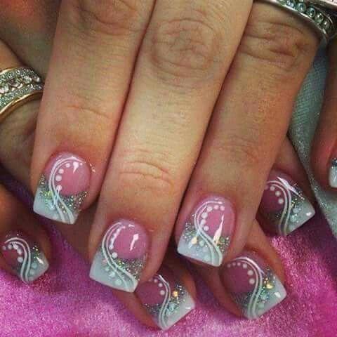 valentine's nail art  nail art designs acrylic nail designs
