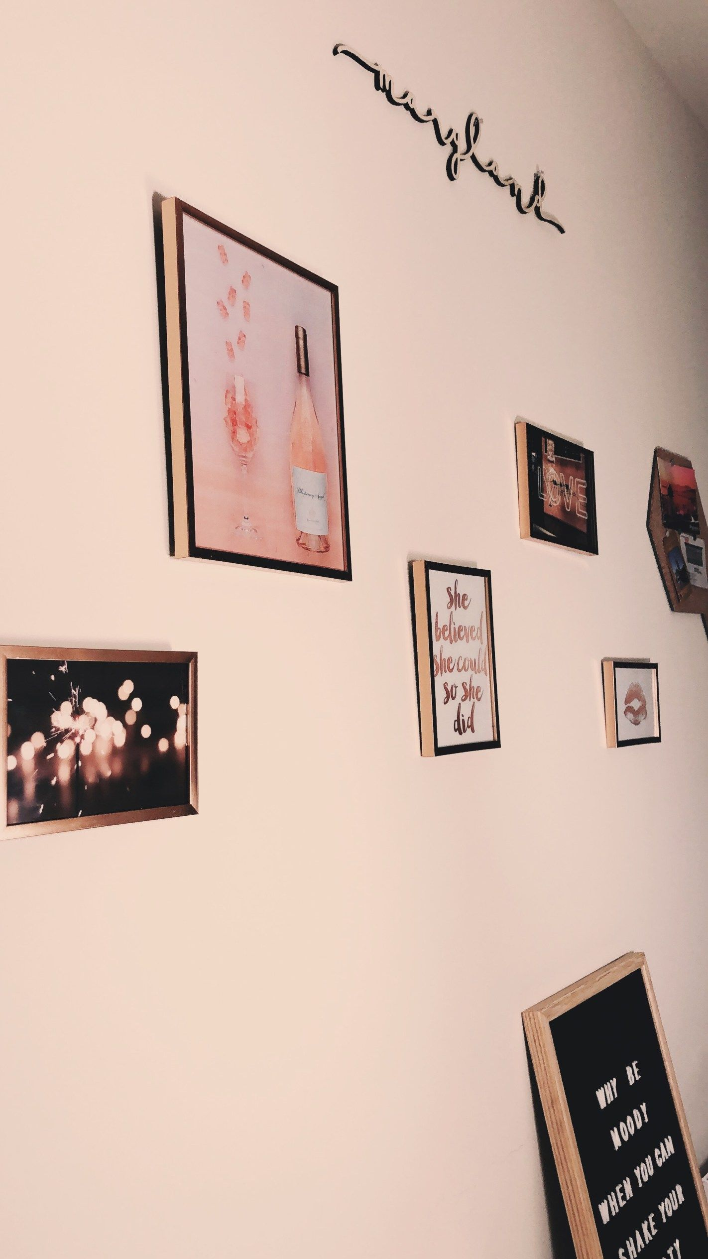 How i made my gallery wall for under gallery wall room decor