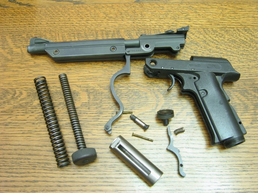 Walther LP 53 dismantled