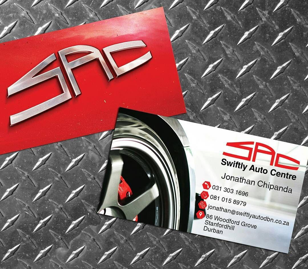 businesscard and #logo options created for a #mechanic / #garage ...