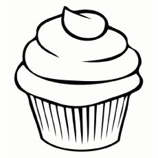 Top 25 Free Printable Cupcake Coloring Pages Online Simple