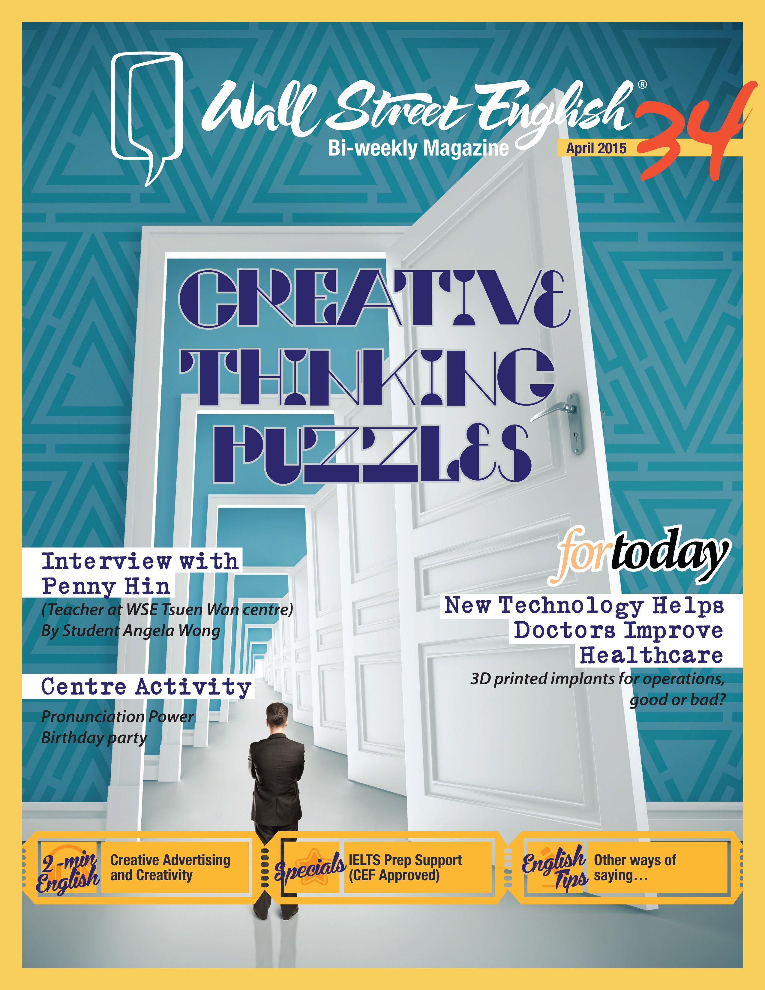 wall street english bi weekly magazine no 34 creative on wall street english id=57768