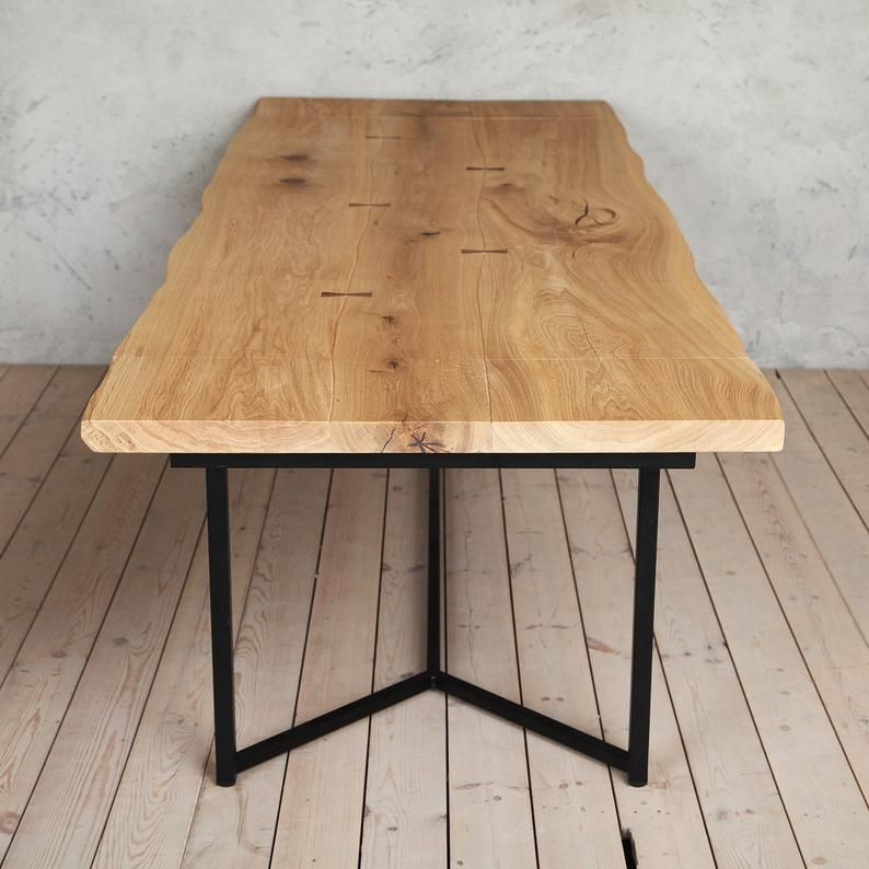 London X Solid Live Edge Extendable Dining Table In 2020 Dining