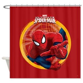 Spiderman Shower Curtains New Category At Rodsandcurtains Com