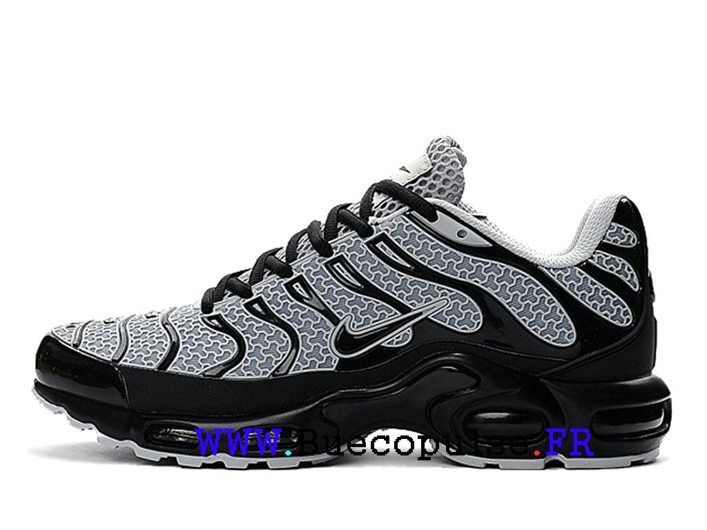 new style 9408a 2dc6f Nike Air Max Plus TXT Tn Camouflage Chaussures Homme Gris noir 604133-105- Nike