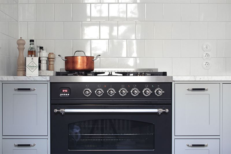 Gas stove from Ilve